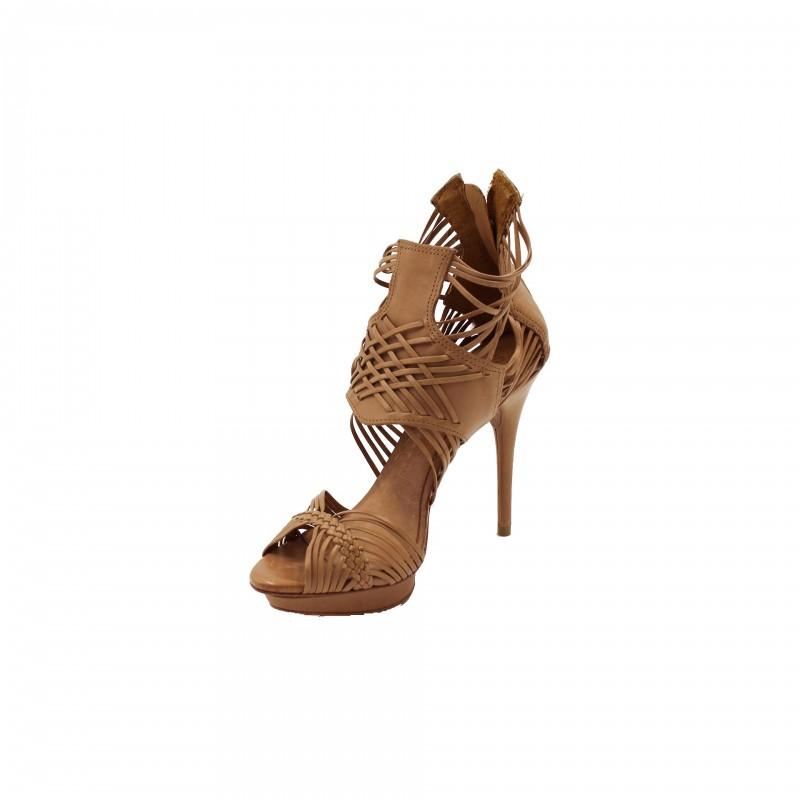 Scarpe Schutz sandalo alto Atanado