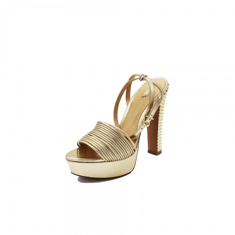 Scarpe Schutz sandalo alto Spechio