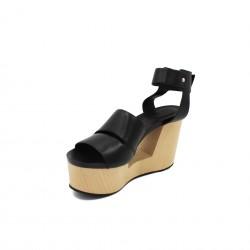 VIC MATIÉ sandalo nero