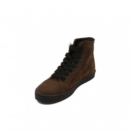 HOGAN REBEL sneakers marroni