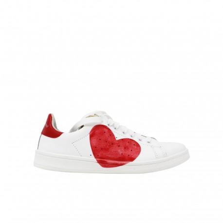 STELLA RITTWAGEN Sneakers Cuore Rosso