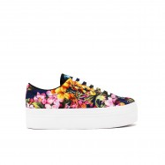 JC PLAY Sneakers Zomg Flowers Blue