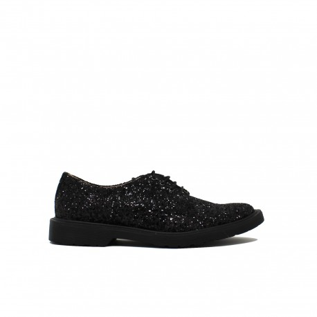 BUTTI Derby Glitter Black