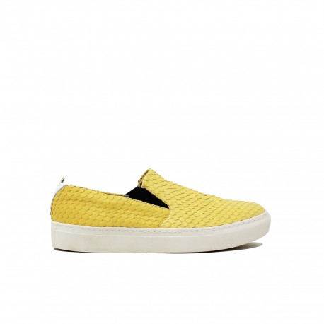 YU Slip-On Cobra Giallo